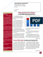 Oklahoma Opinion Quarterly Volume 5, Issue 4