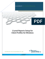 Crystal Reports Setup for CPWin