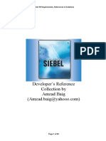 Siebel Reference Doc