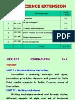 HEX Elective Course HSC