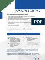 Affective Testing[1]
