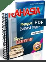Rahasia Sukses Belajar Bahasa Inggris Tanpa Grammar