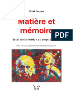 Matiere et memoire