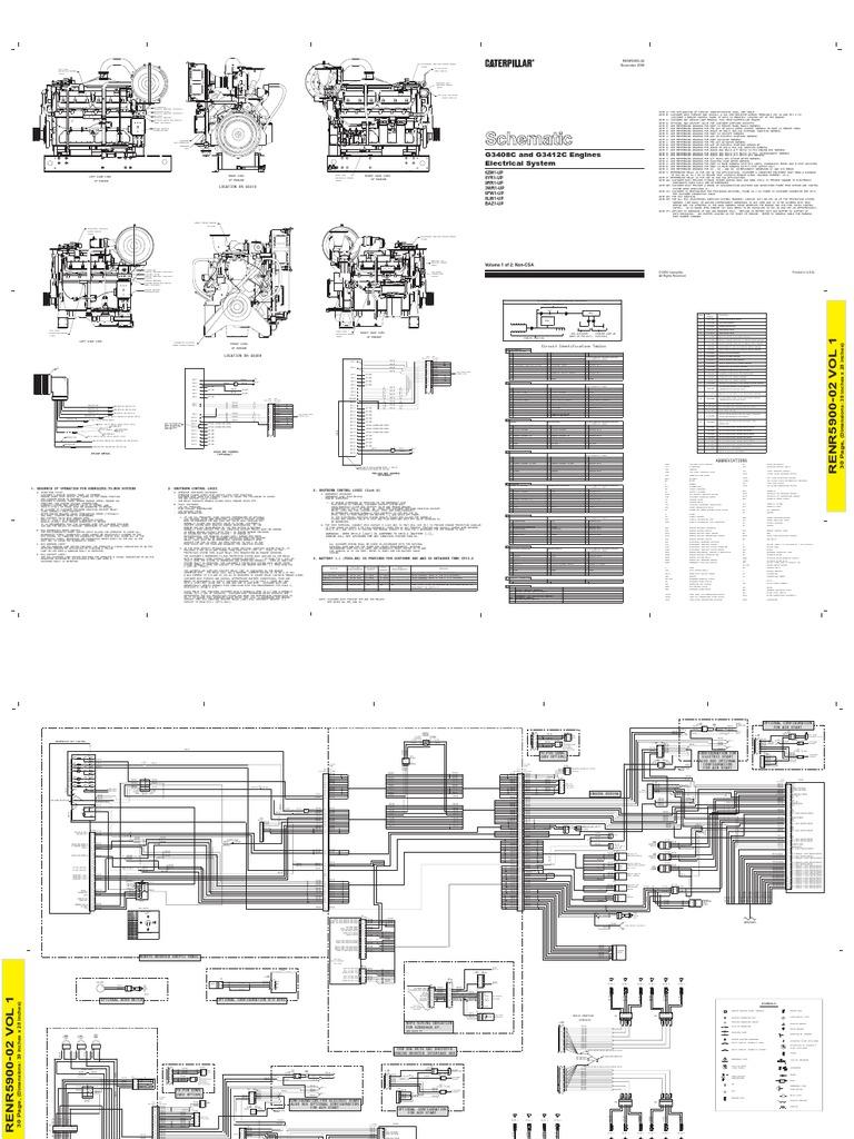 caterpillar wiring diagrams on caterpillar 3512c engine diagram rh linxglobal co Cat 3 Wiring Diagram 2001 Arctic Cat Wiring Diagram