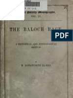 15573996 the Baloch Race a Historical and Ethnological Sketch