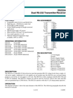 Rs232 Data Sheet