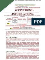 Sante Publique -- Degats Et Non-dits Vaccinaux