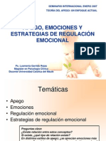 apego regulacion emocional