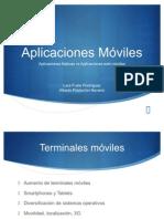 Presentación App moviles