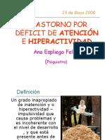 deficit de atencion - hiperactividad