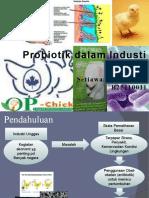 Slide Peran Probiotik dalam Industri Unggas