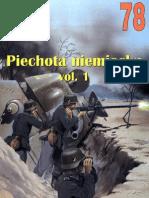 Wydawnictwo Militaria [078] - Piechota Niemiecka Vol. 1