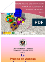 Presentacion PAU-CReCES 2011