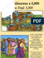 Jesus Alimenta 5000 - Jesus Feeds 5000