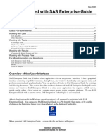Software Docs SAS Enterprise Guide