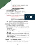 M20 M20i 3.09 Firmware Installation Guide