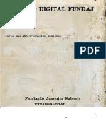 Cartas Aos Abolicionistas Ingleses - Joaquim Nabuco