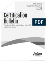 CSCP Certification