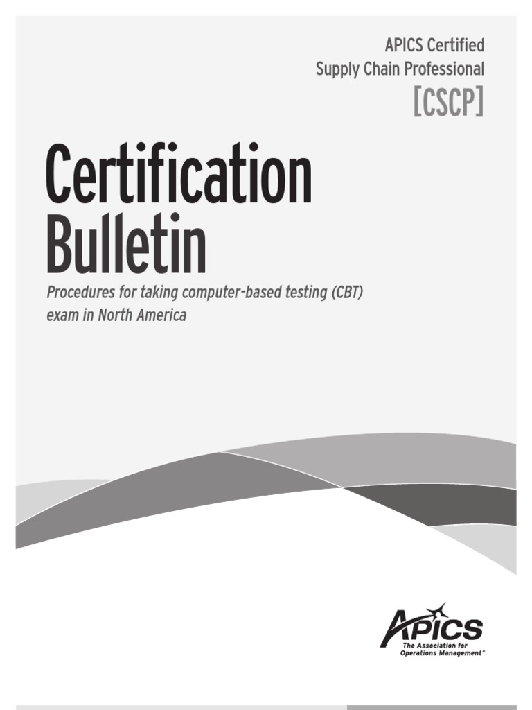 Cscp Certification Identity Document Test Assessment