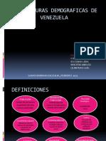 Estructuras Demograficas de Venezuela