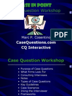 Case Interview Prep Presentation 2010 [PDF Library]