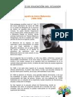 Biografia de Anton Makarenko