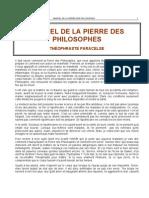 Alchimie Paracelse (1493-1541) - Manuel de La Pierre Des hes Occult is Me]