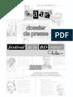 Dossier de presse salon de Cholet // 2008