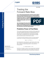 Forward Rate Bias