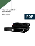 Manual WD Tv Live HUB