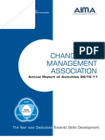 CMA-Annual Report of Activities