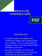 Gerencia Proyectos de Construccion