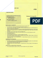 OCR M1 January 2011 Paper (1)