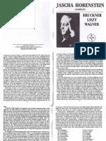 Horenstein Conducts Liszt/Wagner/Bruckner