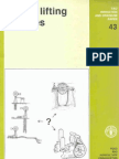 FAO43-WaterLiftingDevices