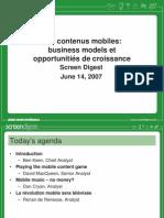 mobilecontent presentations 2007