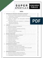 Divulgação 2 - SUPER APOSTILA - ENGENHARIA DE  PRODUÇÃO