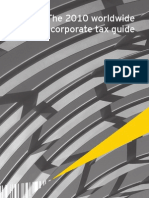 2010 EY Worldwide Corporate Tax Guide