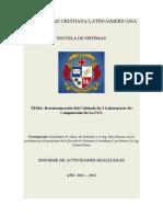 Documentacion Lab Oratorio de a Bajo El Auditorio