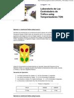 LogixPro - Control de Semaforo_aplicacion en Cascada Temporizador TON