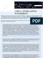 Eternal Life vs Everlasting Punishment