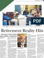 Julius Lawrence Retires
