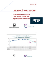 Encuesta GEA-ISA en el Distrito Federal (septiembre de 2007)