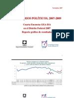 Encuesta GEA-ISA en el Distrito Federal (noviembre de 2007)