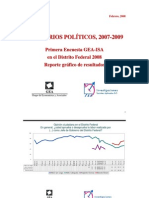 Encuesta GEA-ISA en el Distrito Federal (febrero de 2008)
