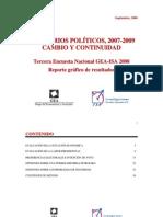 Encuesta Nacional GEA-ISA (agosto de 2008)