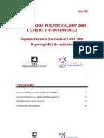Encuesta Nacional GEA-ISA (mayo de 2009)
