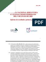 Exit Poll Nacionall GEA-ISA 2009 (1a. parte)