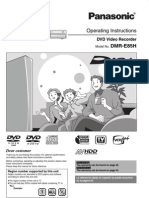 Panasonic DVD Recorder DMRE85H