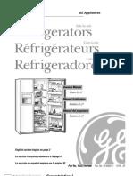 GE Model 20-27 Refrigerators